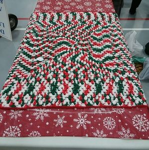 Christmas Crocheted Blanket